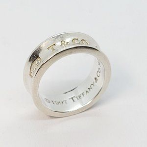 TIFFANY & CO.1837 Collection 925 Concave Ring(SOLD